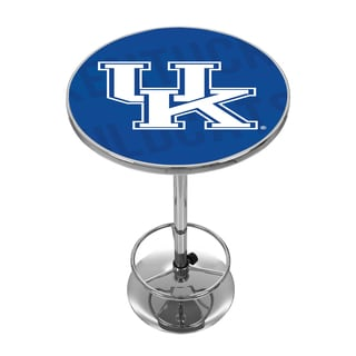 University of Kentucky Chrome Pub Table - Wordmark