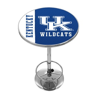 University of Kentucky Chrome Pub Table - Text