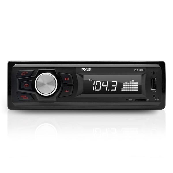 Pyle Plr11mu In  Mp3   Usb   Micro Sd   Aux Single