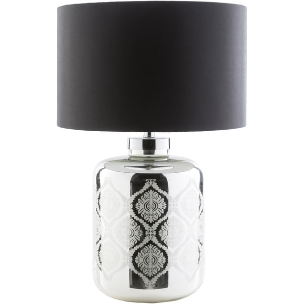 Contemporary Lisa Table Lamp with Antique Glass Base