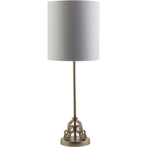 Casual Kate Table Lamp with Painted Metallic Metal Base