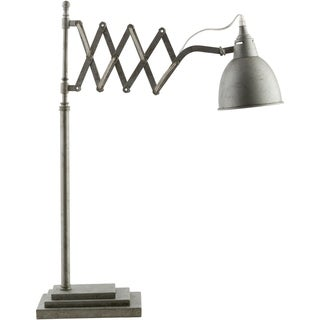 Specialty Dover Table Lamp with Antique Silver Finish Iron Base