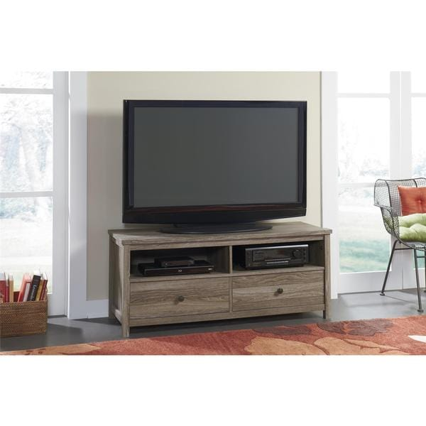 Weathered Pecan 54 Inch Tv Stand