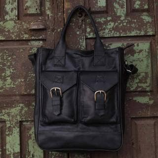 Handmade Leather 'Globetrotter' Travel Bag (Mexico)