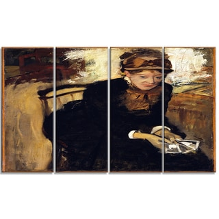 Design Art 'Edgar Degas - Mary Cassatt' Canvas Art Print