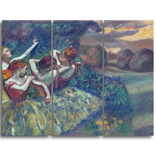 Design Art 'Edgar Degas - Four  Dancers' Canvas Art Print