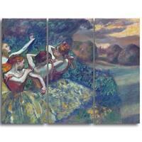 Design Art 'Edgar Degas - Four  Dancers' Canvas Art Print
