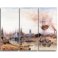 Design Art 'Peter DeWint - Gloucester' Canvas Art Print