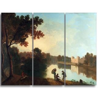 Design Art 'Richard Wilson - Wilton House from the Southeast' Canvas Art Print