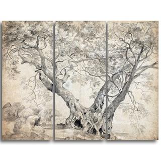Design Art 'Richard Wilson - The Arbra Sacra' Canvas Art Print