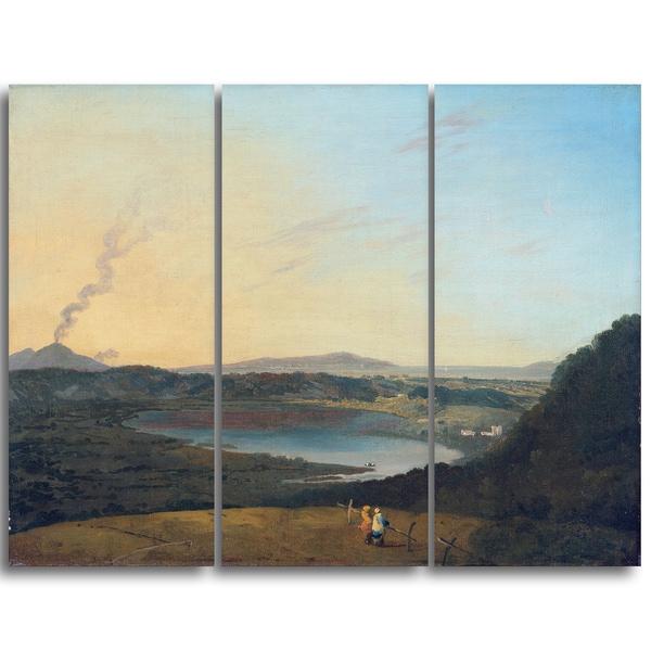 Design Art 'Richard Wilson - Lago d'Agnano' Canvas Art Print