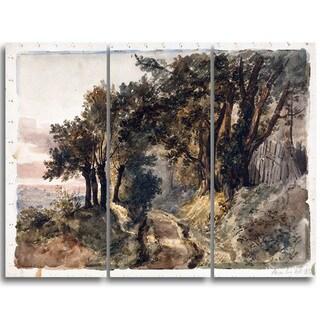 Design Art 'Peter DeWint - Bromley Hill' Canvas Art Print