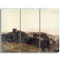 Design Art 'Peter DeWint - Bolton Castle' Canvas Art Print