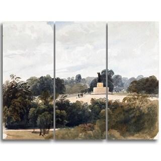 Design Art 'Peter DeWint - Achiless Statue' Canvas Art Print