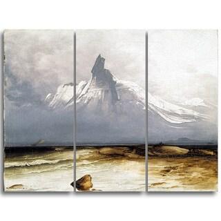 Design Art 'Peder Balke - Stetind in Fog' Canvas Art Print