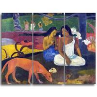 Design Art 'Paul Gauguin - Arearea' Canvas Art Print