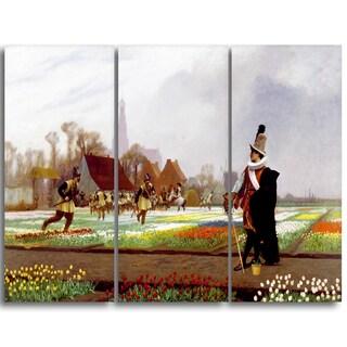 Design Art 'Jean Leon Gerome - The Tuilip Folly' Canvas Art Print