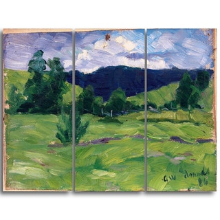 Design Art 'Gustav Wentzel - Summer' Landscape Wall Art