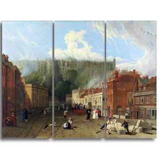 Design Art 'George Vincent - A View of Thames Street' Landscape Canvas Art Print