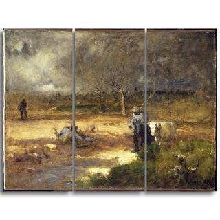 Design Art 'George Inness - Homeward' Landscape Canvas Art Print