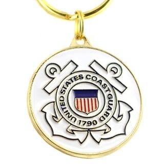 United States Coast Guard Logo Key Ring