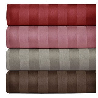 500 Thread Count Cotton Blend Striped Sheet Set
