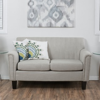 Brookfield Fabric Loveseat by Christopher Knight Home
