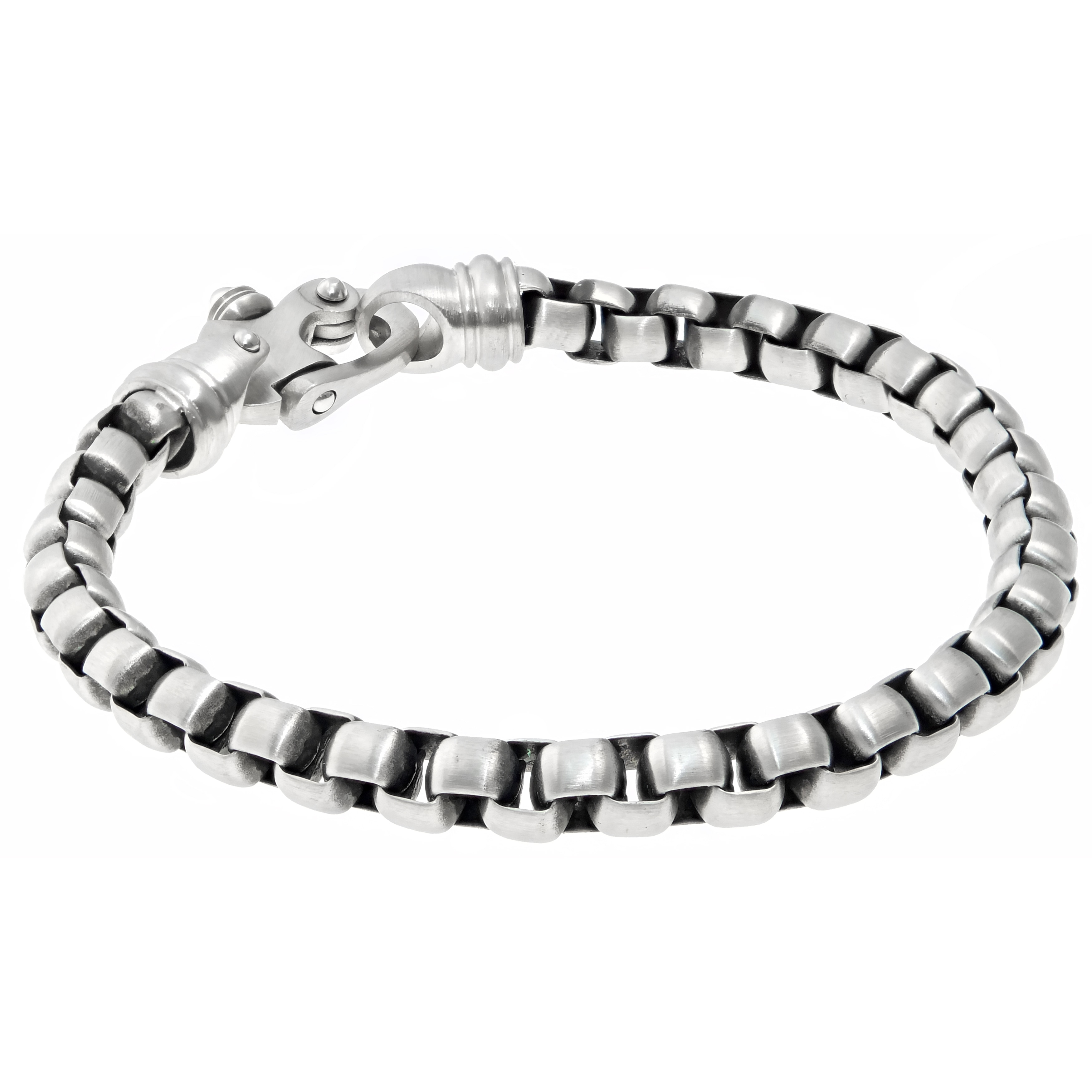9 Inch West Coast Jewelry Sterling Silver 9 Inch Fancy Polished Anklet