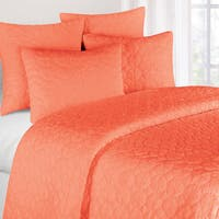 Coral Mara Cotton Quilt (Shams Not Included)