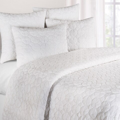 White Mara Cotton Quilt (Shams Not Included)