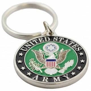 United States Army Crest Key Ring