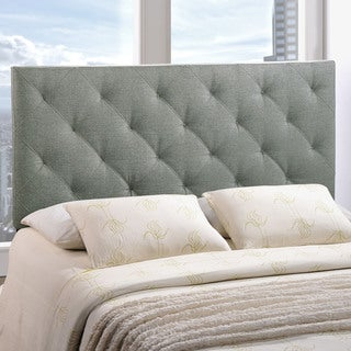 Modway Theodore Fabric Headboard in Grey