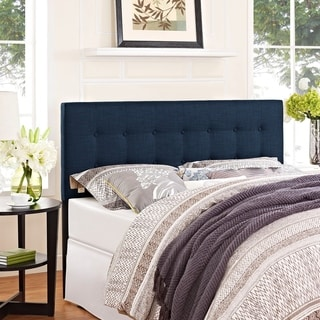 Modway Emily Fabric Headboard in Navy. Size King Upholstered Headboards   Shop The Best Deals for Aug