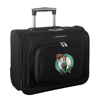 Denco Sports Legacy NBA Boston Celtics Carry On 14-inch Laptop Rolling Overnight Tote