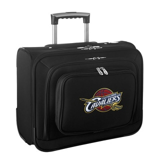 Denco Sports Legacy NBA Cleveland Cavaliers Carry On 14-inch Laptop Rolling Overnight Tote