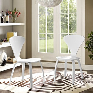 modway vortex dining chairs set of 2