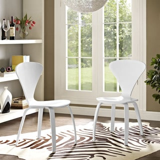 Modway Vortex Dining Chairs (Set of 2)