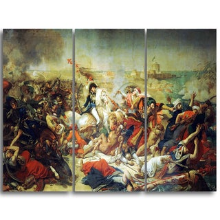 Design Art 'Antoine-Jean Gros - Battle of Aboukir' Master Piece Landscape Artwork