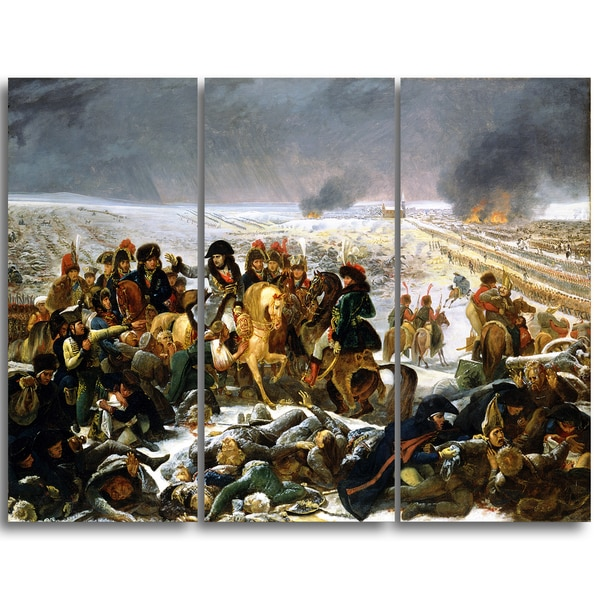 Design Art 'Antoine-Jean Gros - Napoleon on the Battlefield' Master Piece Landscape Artwork