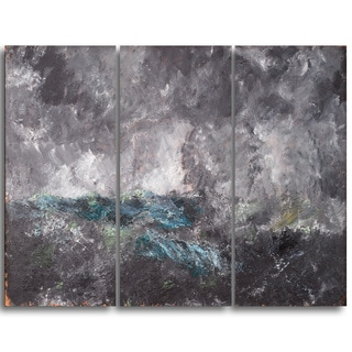 Design Art 'August Strindberg - Storm in the Skerries' Master Piece Landscape Artwork