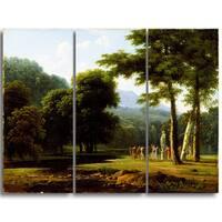 Design Art 'Bertin Jean Victor - Landscape' Master Piece Landscape Artwork