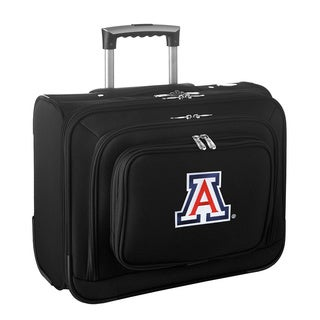 Denco Sports Legacy NCAA Arizona Wildcats Carry On 14-inch Laptop Rolling Overnight Tote