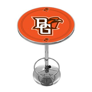 Bowling Green State University Chrome Pub Table