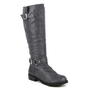 Mark and Maddux Travis-01s Women's Knee-high Riding Boot