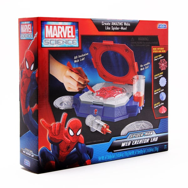 Uncle Milton Ultimate Spider-Man Web Creator Lab