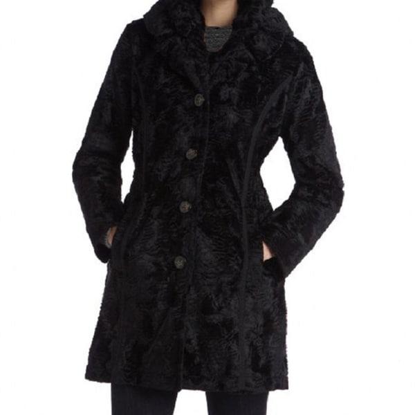 Laundry By Shelli Segal Women's Faux Fur Reversible Coat