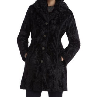 Laundry By Shelli Segal Women's Faux Fur Reversible Coat