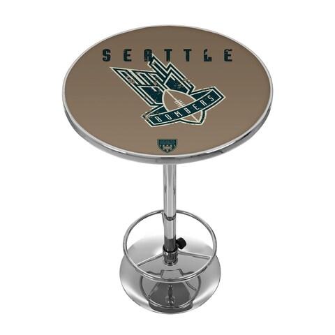 VAF Seattle Bombers Chrome Pub Table