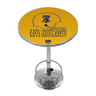 VAF Philadelphia Bell Chrome Pub Table
