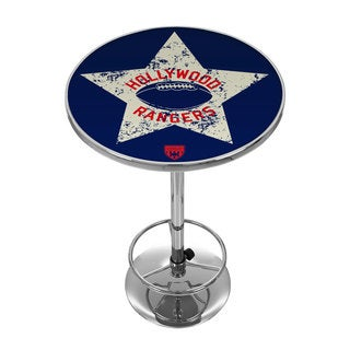 VAF Hollywood Rangers Chrome Pub Table